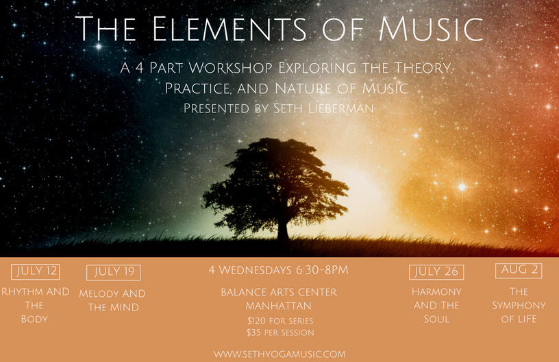 The Elements of Music: A 4 Part Workshop Exploring the